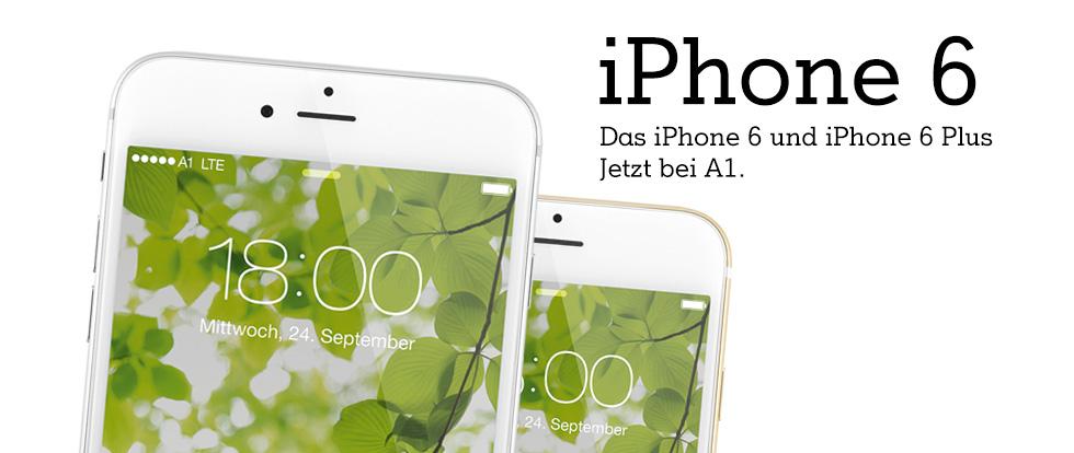 iPhone 6 bei A1 online bestellen